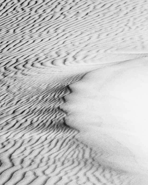 131128_Mesquite Dunes - Ripples by Karl G. Graf.