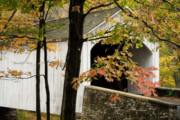Loux Covered Bridge by .