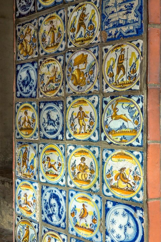 Conservatory, Spanish Tiles by Karl Graf.