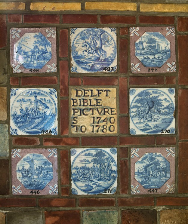 Saloon Delft Tiles by Karl Graf.