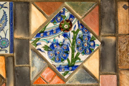 141201_Persian Tile 1 by Karl Graf.