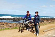 Karen and Sue at Port Fairy