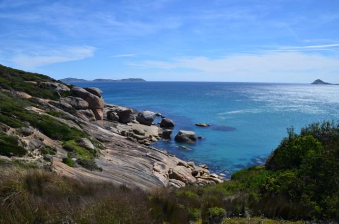 Rocks near Squeaky Beach