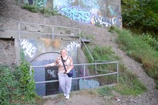 Me at the MoL bunker.