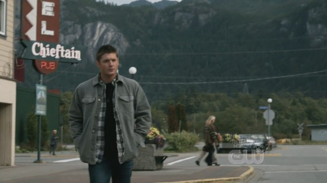 This scene from season 4's Wishful Thinking was filmed in Squamish.