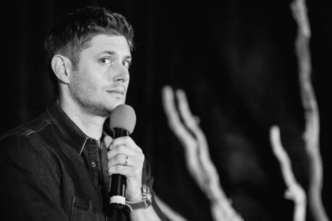Jensen looks overwhelmed (Photo: Megan Jackson)