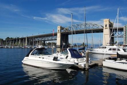 False Creek & Burrard Street Bridge