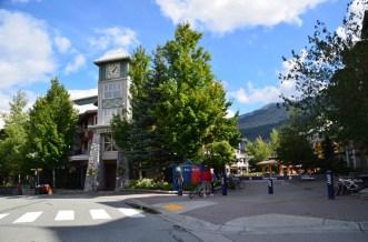 Arriving back at Whistler Village