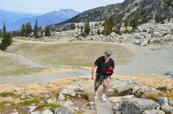 Beginning of the Alpine Walk