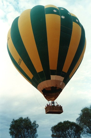 Hot air ballooning in Central Australia