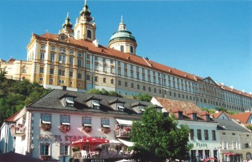 Visiting Melk Abbey in Austria