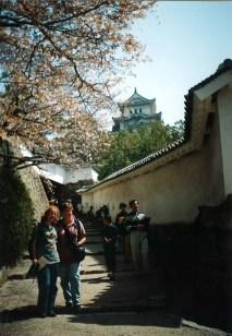 Jenni & Karen at Himeji Castle