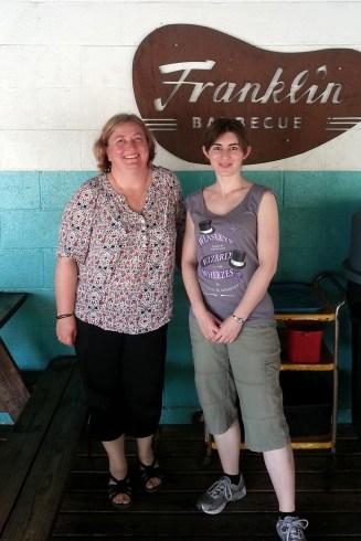 Karen and Rachel