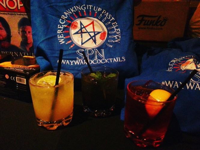 Supernatural Wayward Cocktails