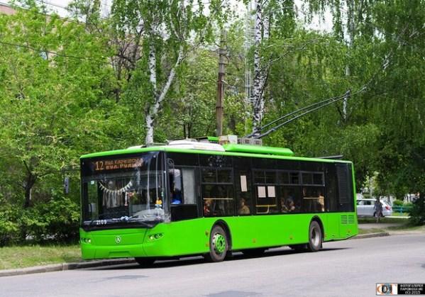 Не жди зря: в Харькове троллейбус №12 меняет маршрут, а ...