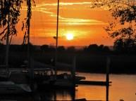 Pier Sunset Brunswick