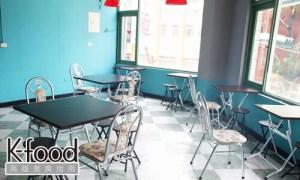 《港仔大佬》香港舊電影式的復古茶餐廳裝潢