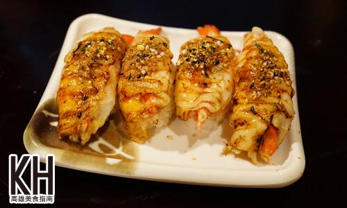 《將太壽司》炙燒起司蝦握壽司