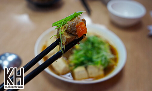 《江豪記臭豆腐王》清蒸臭豆腐還有肉醬