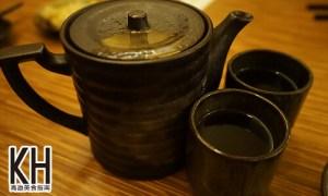 《義郎創作壽司》免費供應的熱麥茶