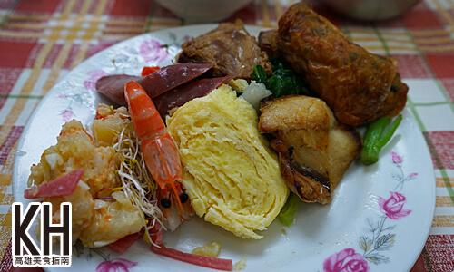 《心心食堂》綜合快餐便當超多菜