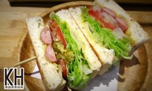 《常綠館》德式香腸三明治