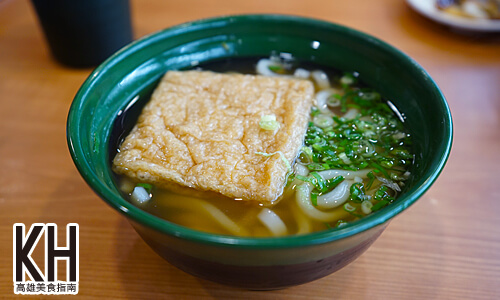 《藏壽司》豆皮烏龍麵