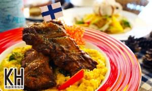 《拉斐爾廚坊》南瓜義式香烤豬肋排燉飯