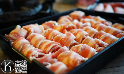 《汕頭泉成沙茶火鍋》豬肉片