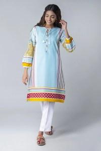 Khaadi CTP20213 BLUE Pret