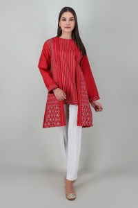 Khaadi ETE20330 RED Pret