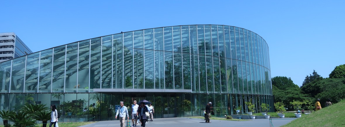 新宿御苑温室