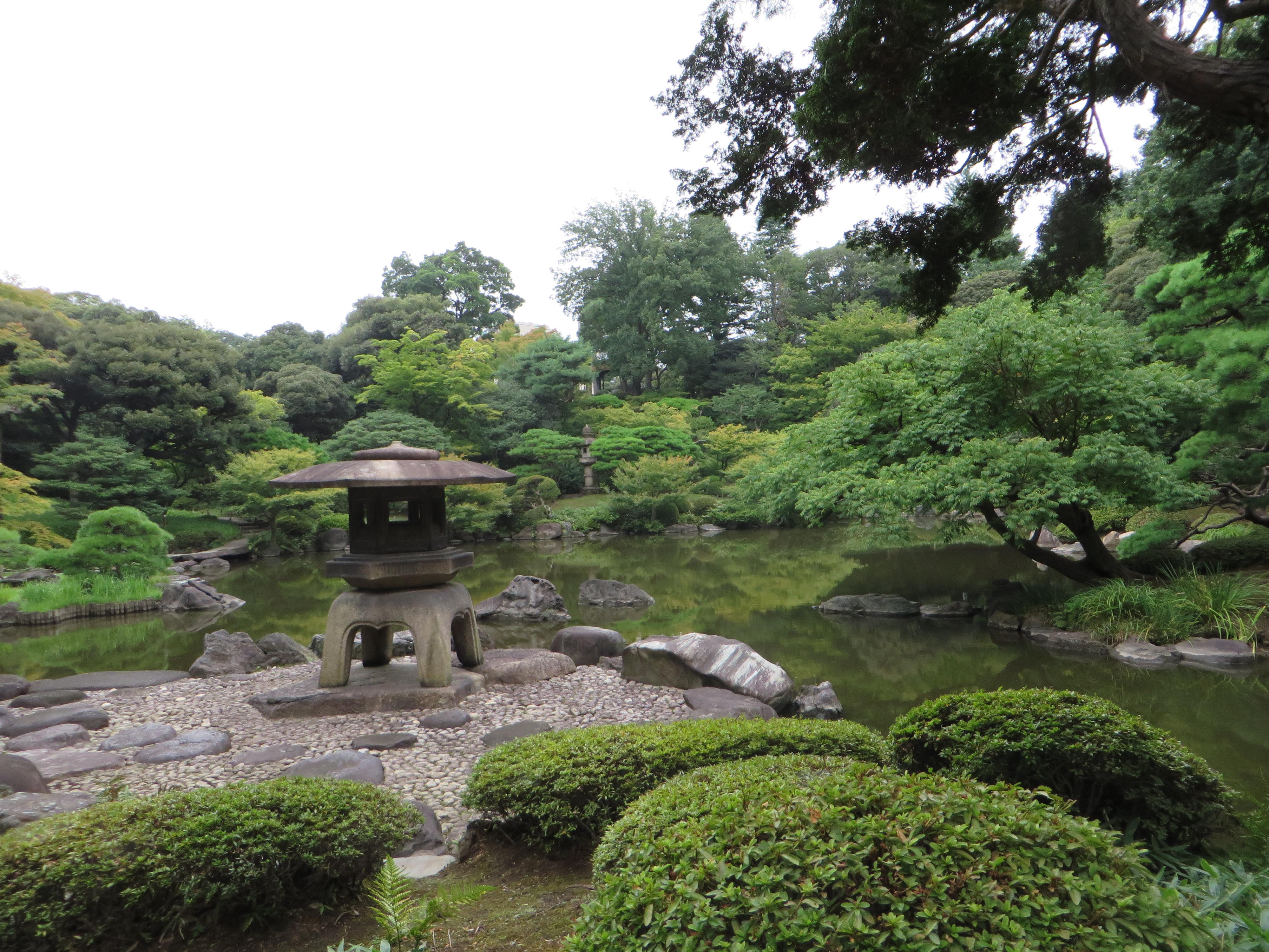 旧古河庭園 日本庭園