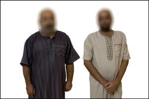 الأمن الوطني في الانبار يلقي القبض على عنصرين من داعش اشرفا على مجزرة البو نمر