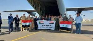 العراق يُرسِل شحنة المُساعدات الثالثة إلى الخرطوم