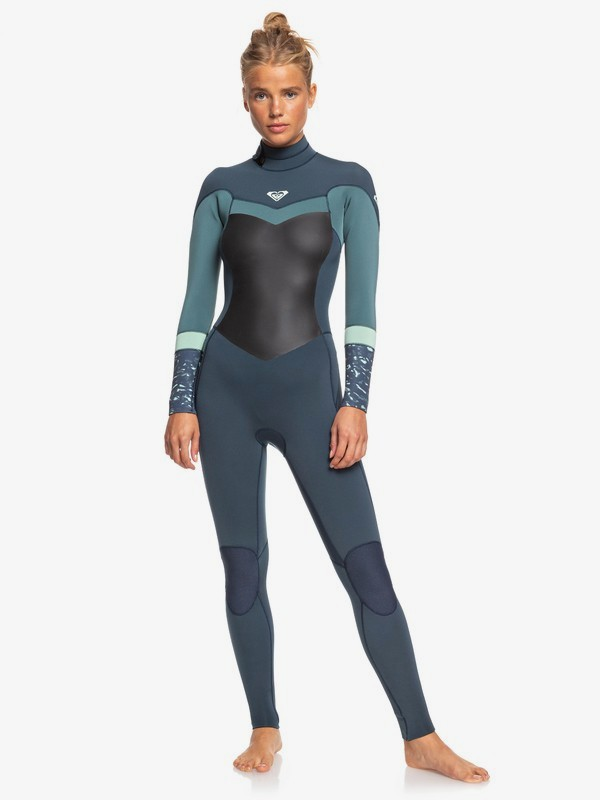 3-2mm Syncro Back Zip Wetsuit for Women