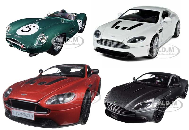 11 Best Selling Aston Martin Model Cars from DMW