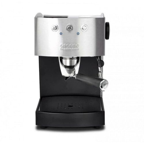 Ascaso Arc Black and Steel pressure coffee machine