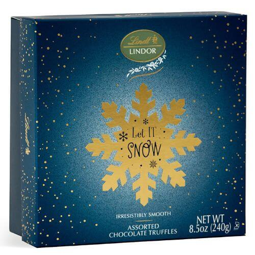Assorted LINDOR Let It Snow Gift Box