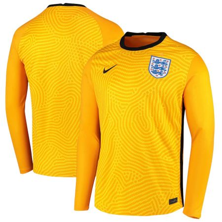 England Goalkeeper Stadium Shirt 2020-22 - Long Sleeve
