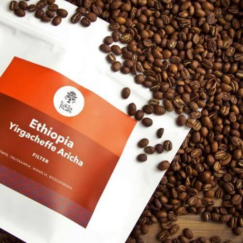 Ethiopia Yirgacheffe Aricha Washing Station Grade 1 coffee