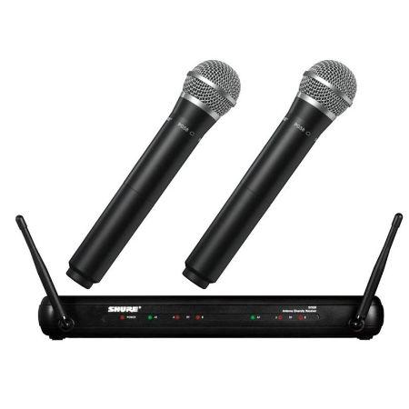 Wireless microphone Shure SVX288 - PG58
