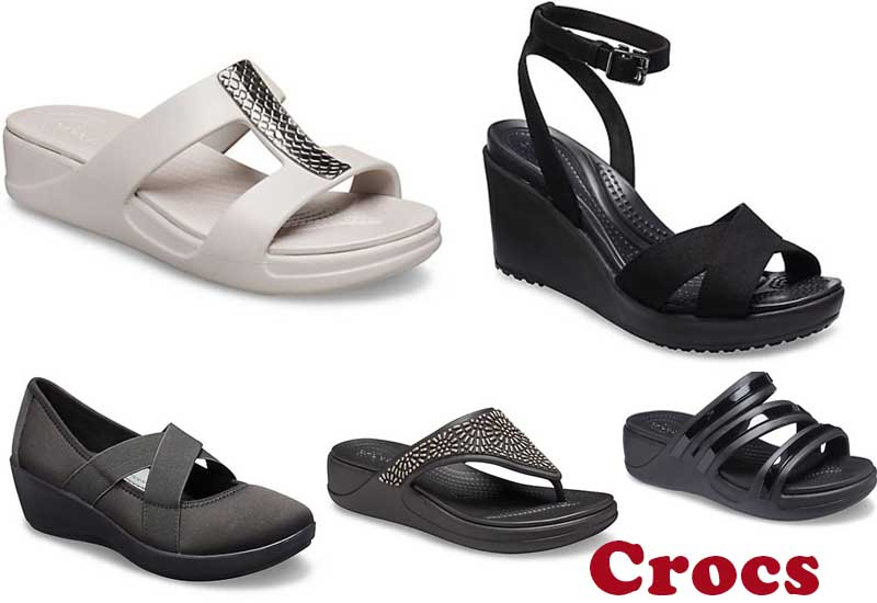 11 Comfortable heels and wedges for women from Crocs