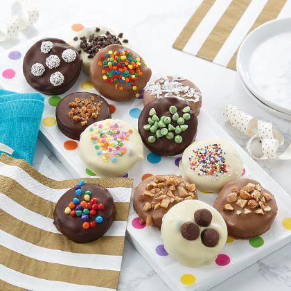 12 Belgian Chocolate-Covered Nibblers