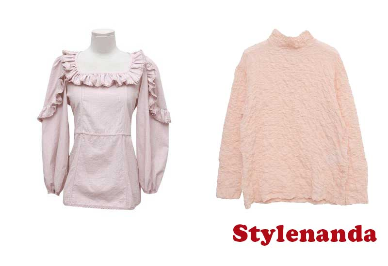 12 Best Selling Blouses from Stylenanda