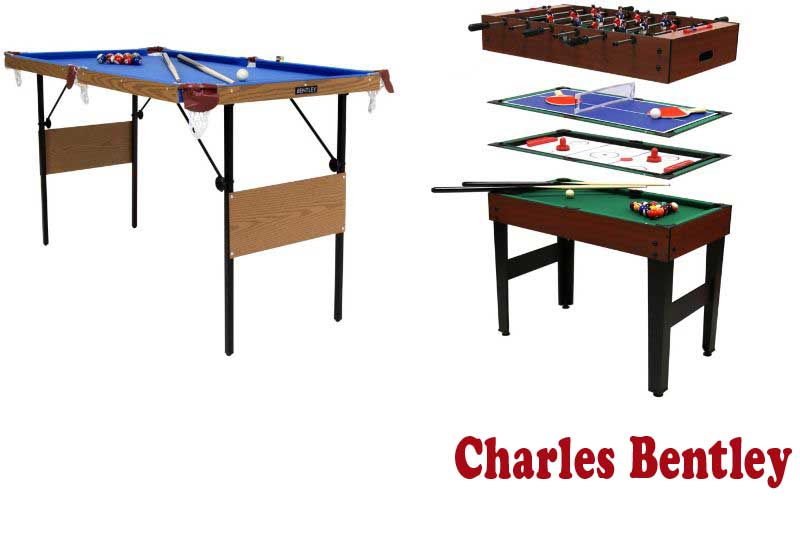 6 Best Pool Tables from Charles Bentley