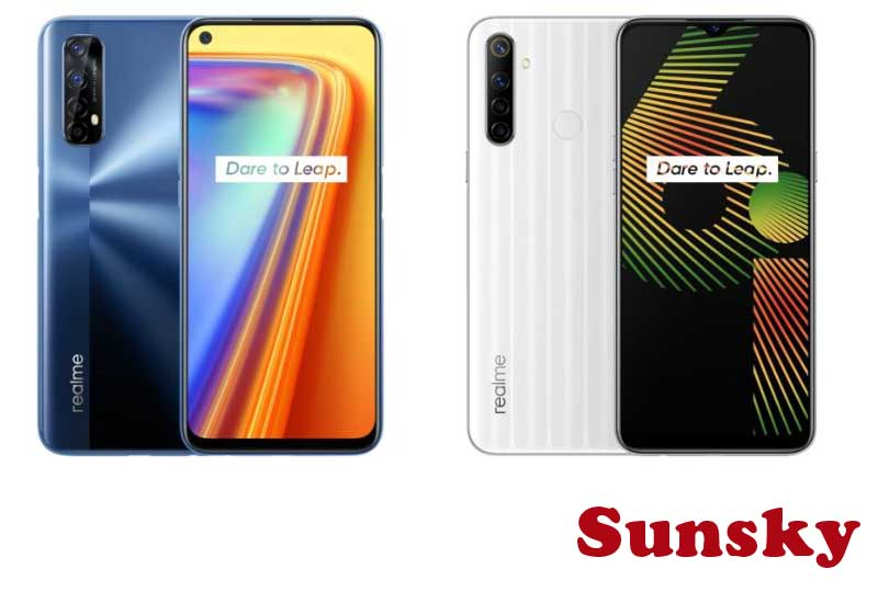 6 Best Selling Realme Phones from Sunsky