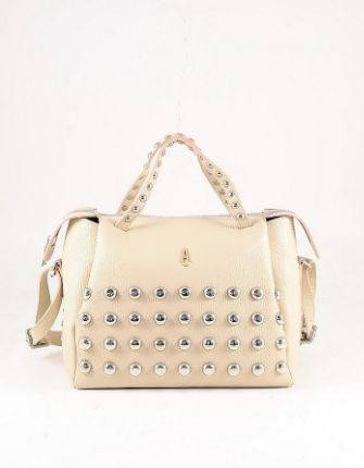 ANIYE BY - Pale Pink Leather Satchel Bag