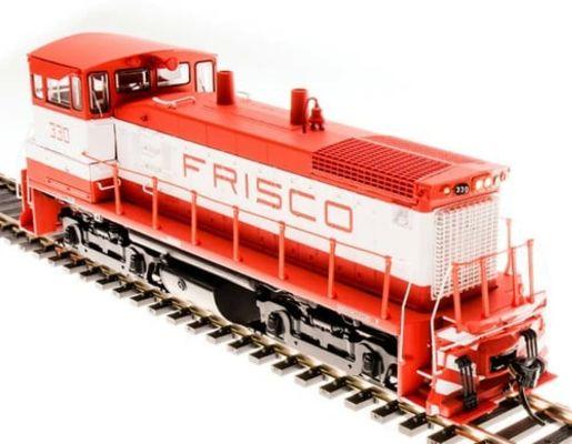 Broadway Limited 5455 HO St. Louis-San Francisco EMD SW1500 Diesel Loco