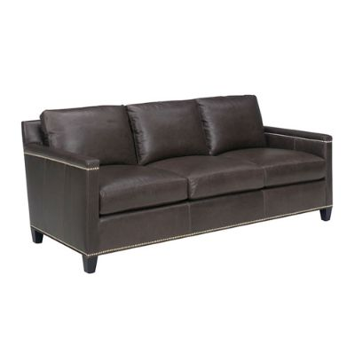 Carrera Brown Strada Leather Sofa